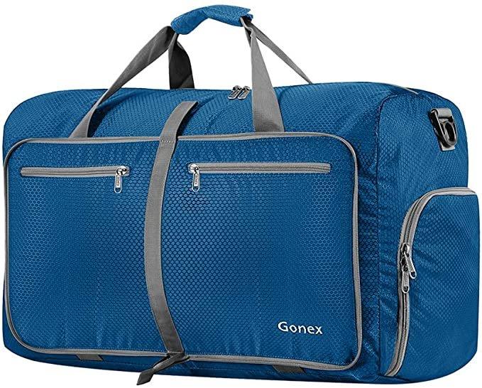 Gonex faltbare Reisetasche in 5 Größen & 14 Farben ab 9€ inkl. Prime Versand (statt 20€)
