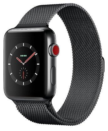 50€ Rabatt auf Apple Watch Series 3 Modelle bei Cyberport, z.B. 42mm für 389€