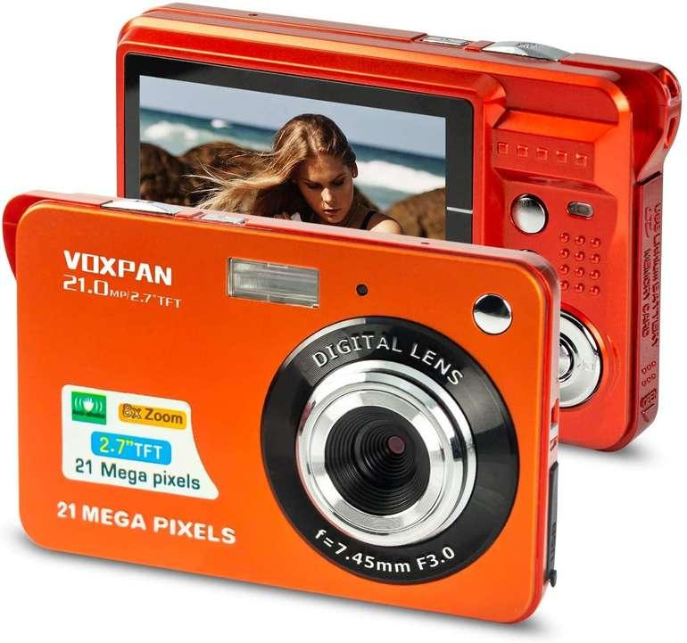 "Voxpan 21MP Digitalkamera (8x Digital Zoom 2,7"" Bildschirm) für 27,99€ inkl. Versand (statt 40€)"