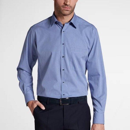 Eterna Black Sale: 50% Rabatt auf viele Hemden & Blusen, z.B. Slim Fit Nattè für 29,95€