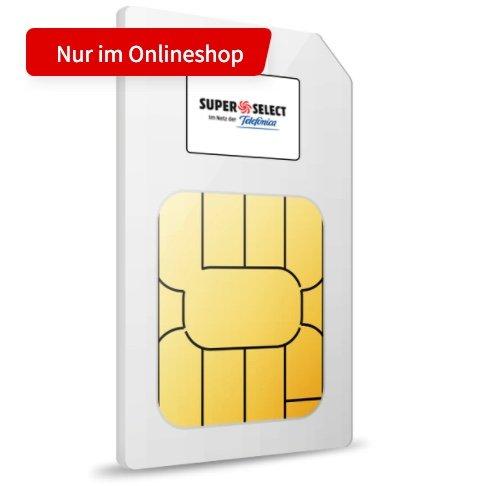 o2 Super Select Super Select S Allnet & SMS Flat mit 6GB LTE + 150€ Media Markt Gutschein für 9,99€ mtl.