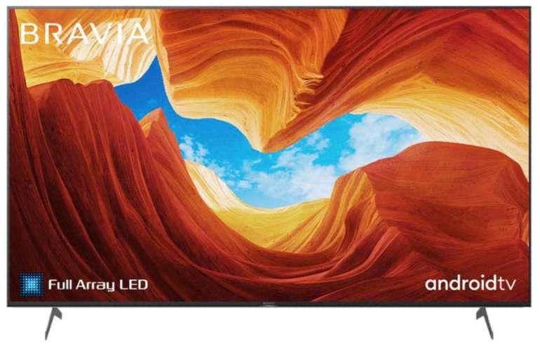 Media Markt: MwSt. geschenkt bei vielen Sony TV Geräten - z.B. Sony KD-55XH9077 UHD LED Smart-TV für 661,43€