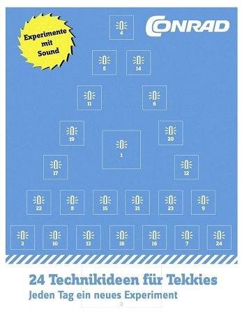 Conrad Adventskalender 2017 für 9,95€ inklusive Versand (statt 15€)