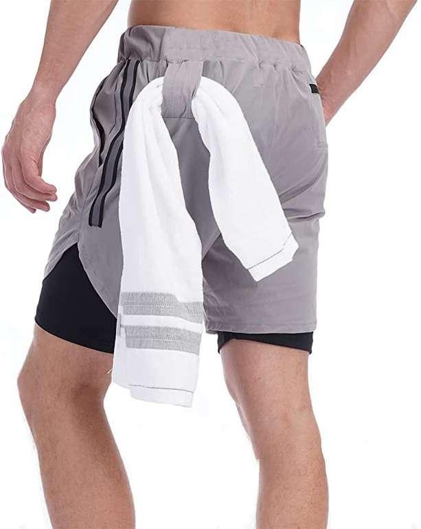 Yageshark Herren Sport Shorts in 3 Farben für je 7,49€ inkl. Prime Versand (statt 15€)