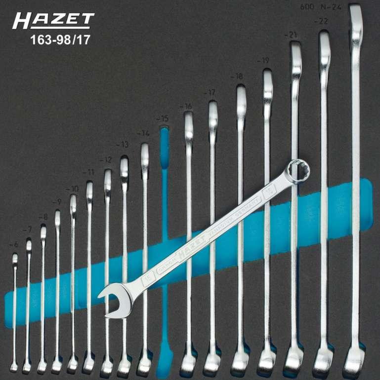 Hazet Ring-Maulschlüssel-Satz 17-teilig für 169,99€ inkl. Versand (statt 204€)