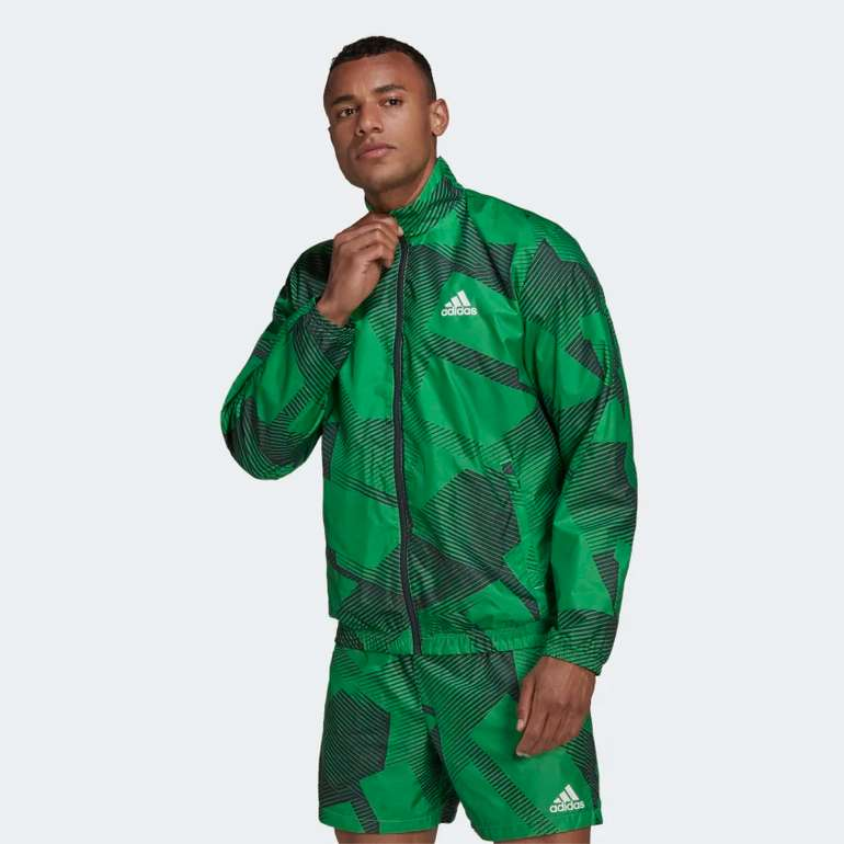 Adidas Sportswear Graphic Herren Trainingsjacke für 49€ inkl. Versand (statt 62€)