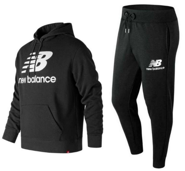 Bundle: New Balance Kapuzenpullover + Jogger Essentials für 59,95€ inkl. Versand (statt 67€)