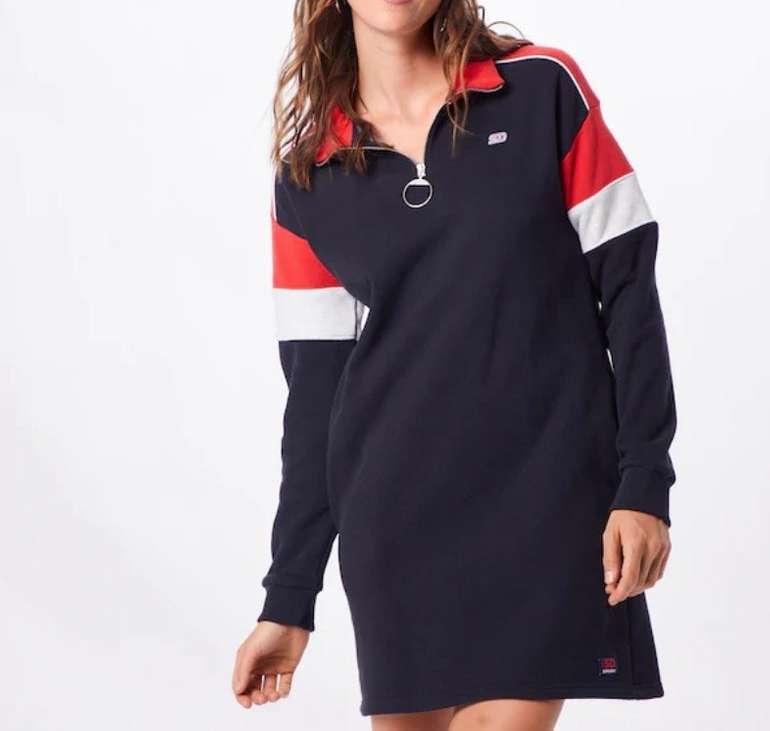 Superdry Damen Kleid 'Panel Zip' in navy für 42,42€ inkl. Versand (statt 51€)