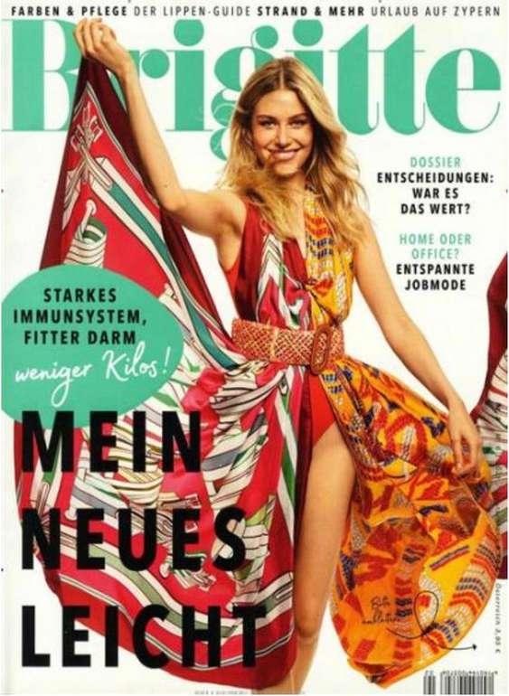 """Jahresabo der Zeitschrift """"Brigitte"""" für 99€ + z.B. 90€ Bestchoice Gutschein"""