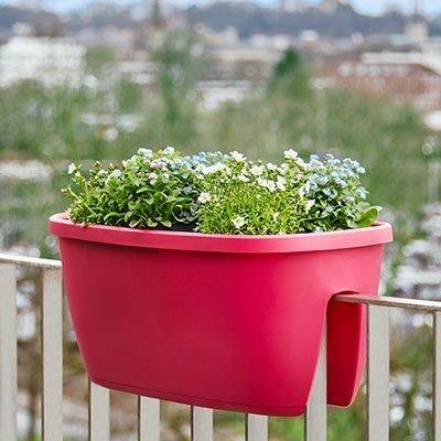 Emsa City Geländertopf mit Bewässerung für 8,96€ inkl. VSK