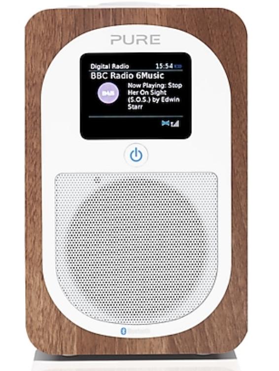 Pure Evoke H3 Tragbares Digital- und UKW-Radio mit Bluetooth für 89,99€ inkl. Versand (statt 120€)