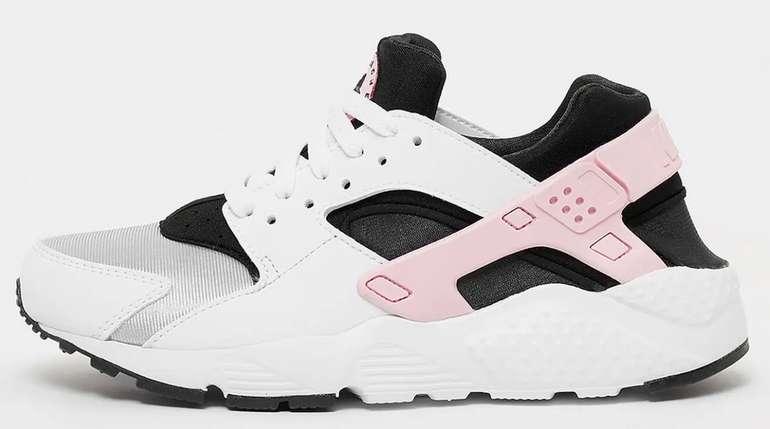 Nike Huarache Run Sneaker (GS) in Pink Foam für 70€ inkl. Versand (statt 79€)