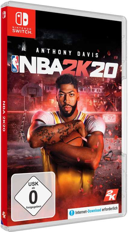 NBA 2K20 Spiel (Nintendo Switch) nur 20,99€ inkl. Versand (statt 29€)