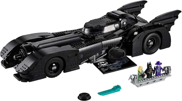 LEGO (76139) DC Super Heroes - 1989 Batmobile für 205,85€ (statt 237€)