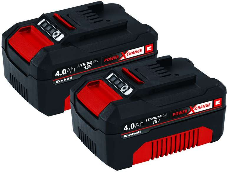 Toom: Einhell Akku-PXC-Twinpack 4,0Ah für 64,28€ inkl. Versand (statt 83€)