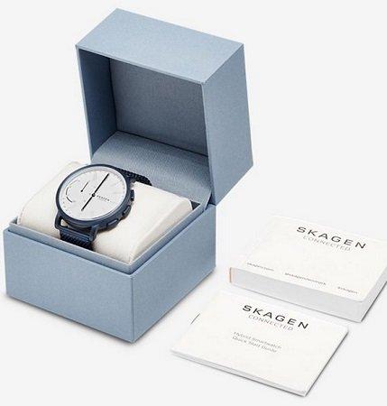 3 Skagen Uhren reduziert z.B. Hagen SKT1107 Hybrid Smartwatch Milanaise für 148€