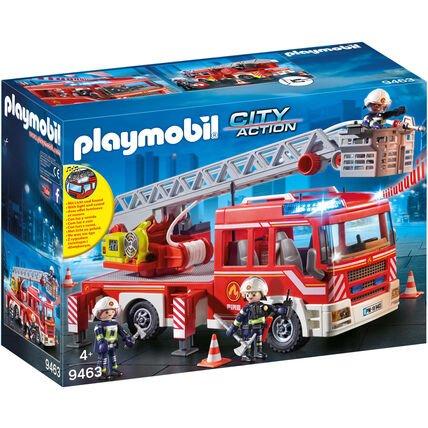 Playmobil City Action – Feuerwehr-Leiterfahrzeug (9463) ab 40,49€ (statt 50€)