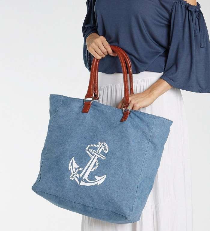 """Lascana Strandtasche """"Anker"""" für 15,93€ inkl. Versand (statt 31€)"""