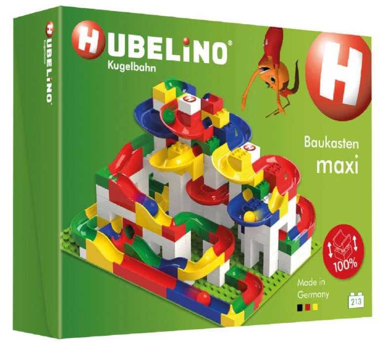Babymarkt: Bis zu 60€ Rabatt je nach Bestellwert, z.B. Hubelino Baukasten maxi (213-teilig) für 90,48€ inkl. Versand (statt 100€)
