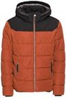 Tom Tailor Steppjacke mit Kapuze in orange für 44,90€ inkl. Versand (statt 81€)