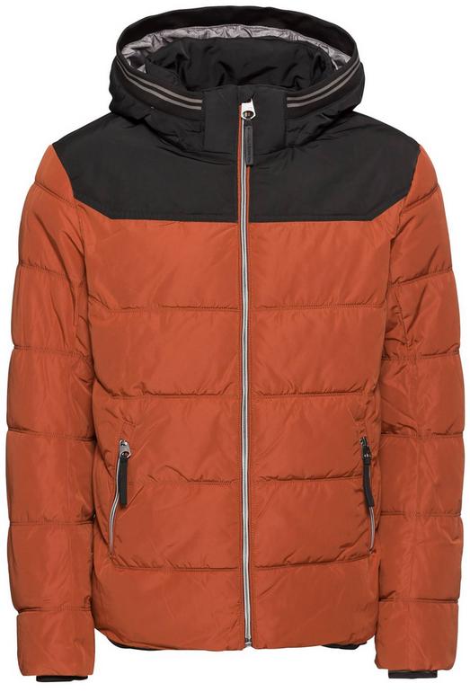 Hot! Tom Tailor Steppjacke mit Kapuze in orange für 28,29€ (statt 81€)