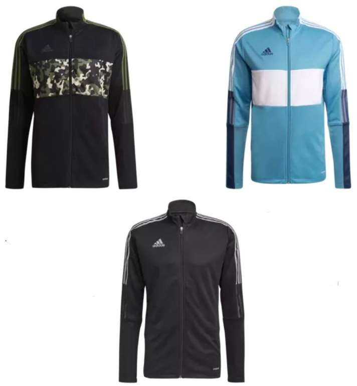 Adidas Jacken Tiro AOP / Tiro Word R und Tiro CU hellblau für je 29,95€ inkl. Versand (statt 36€)