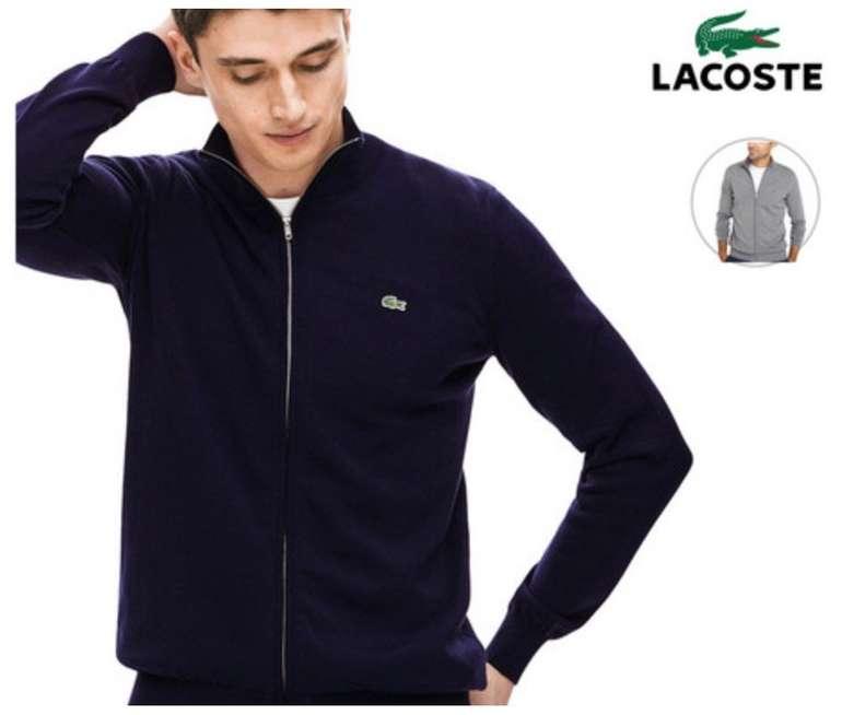 Lacoste AH4085 - Herren Cardigan bzw. Strickjacke aus Baumwolle für 70,90€ inkl. Versand