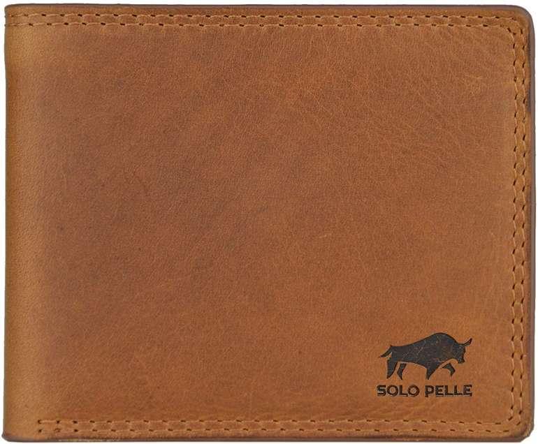 Solo Pelle Cologne Herren-Geldbörse inkl. Geschenkbox für 19,90€ (statt 40€)