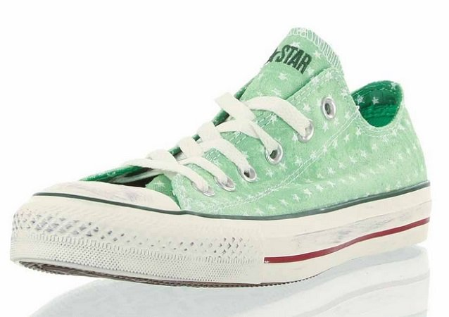 Converse All Star Ct As Ox Graphics Green Tones Sneaker für nur 12,12€ inkl. VSK