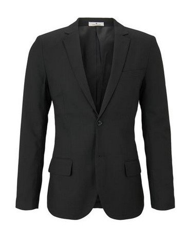 """Tom Tailor Sakko """"Smart Blazer"""" in schwarz für 52,49€ (statt 100€)"""