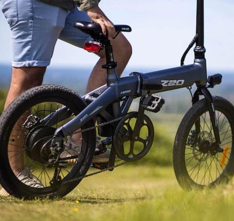 Himo Z20 - Faltbares E-Bike (36 Volt, 10 Ah, 250 Watt Motor) für 660,78€ inkl. Versand - DE-Lager!