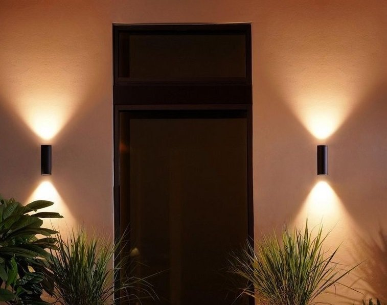 Doppelpack Philips Hue Appear Outdoor Wandleuchten 2