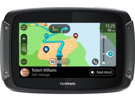 TomTom Rider 50 Motorrad-Navigationssystem (Lebenslange-Kartenupdates!) für 245,90€ inkl. Versand (statt 267€)