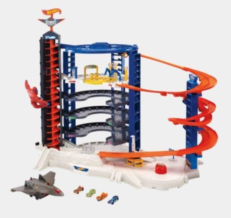 Hot Wheels Super Megacity Parkgarage für 87,95€ inkl. Versand (statt 170€)