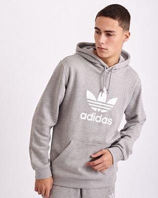 Adidas Originals Trefoil Herren Hoodie in grau für 24,99€ inkl. Versand (statt 41€)