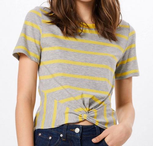 Only Damen T-Shirt in grau/gelb für 6,40€ inkl. Versand