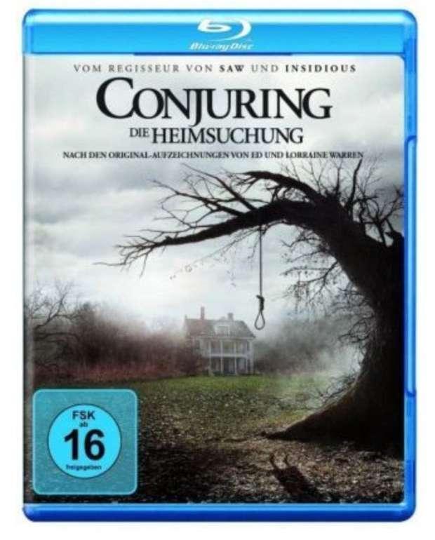 The Conjuring - Die Heimsuchung (Blu-ray) für 3,42€ inkl. Versand (statt 9€)