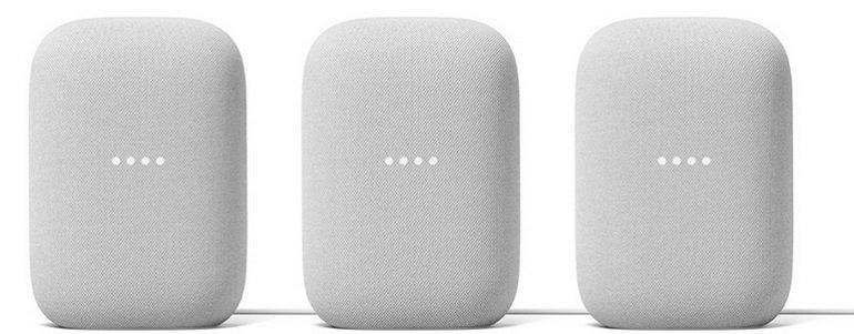 3er Set Google Nest Audio für nur 219,95€ inkl. Versand (statt 267€) + 6 Monate Spotify Premium Gutschein