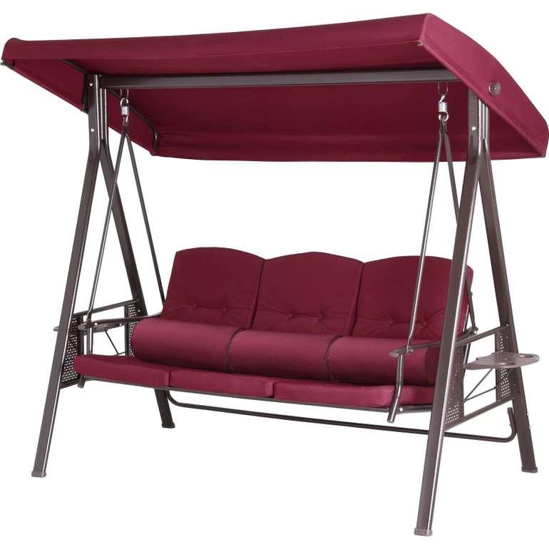 Giardino Hollywoodschaukel Deluxe (3-Sitzer) für 169,99€ inkl. Versand (statt 233€)