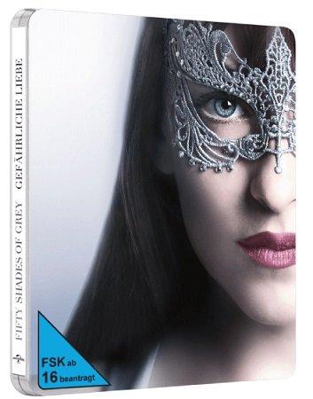 Fifty Shades of Grey 2 - Gefährliche Liebe - Exklusiv (Steelbook) für 19€