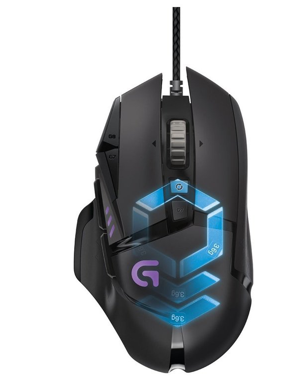 Logitech G502 Proteus Spectrum Gaming-Maus für 39€ inkl. Versand (statt 54€)