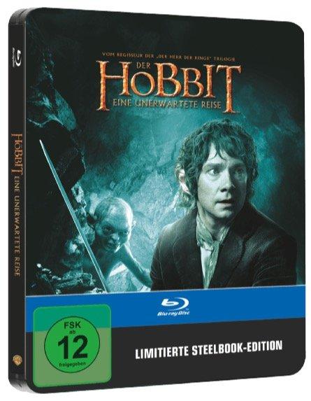 Der Hobbit: Eine unerwartete Reise - Steelbook Edition (Blu-ray) für 5€