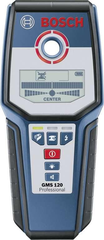 Bosch Professional Multidetektor GMS 120 (120mm Erfassungstiefe) für 65,99€ (statt 75€)