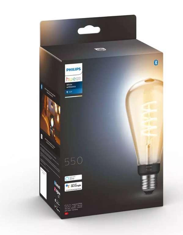 Philips Hue White Ambiance Giant Edison (E27/7W 550lm) für 32,19€ inkl. Versand (statt 46€) - Newsletter!