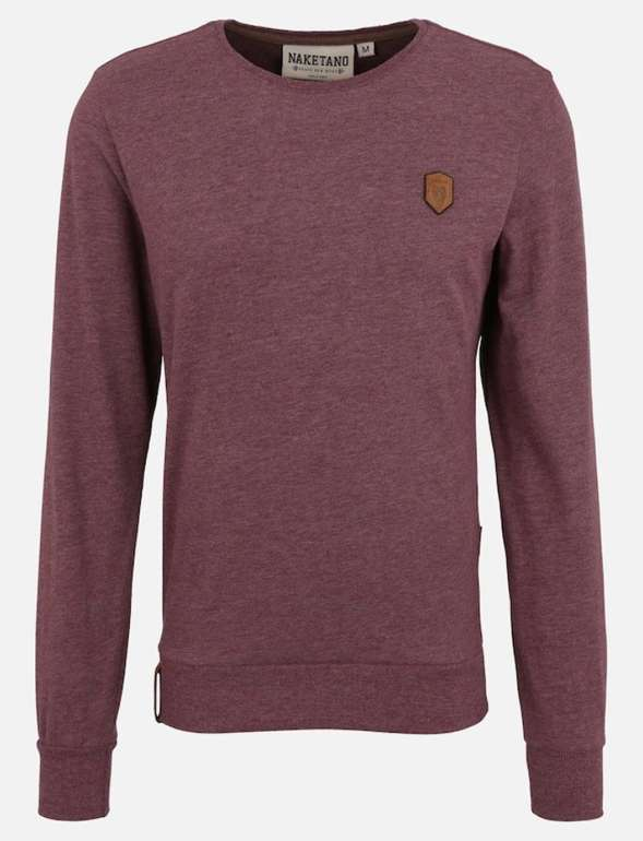 "Naketano Herren Sweatshirt ""Al K.Ohol"" für 29,67€ inkl. Versand (statt 45€)"