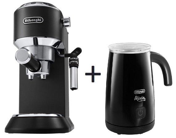 De'Longhi Dedica Style EC 685.BK Espressomaschine + Milchaufschäumer für 159€