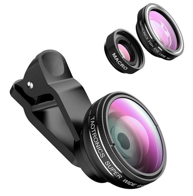 TaoTronics TT-SH014 Fisheye Objektiv für Smartphones nur 9,99€ (statt 13€)