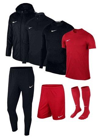 7-tlg. Nike Academy 18 Trainingsset in vielen Farben für 99,95€ (statt 126€)