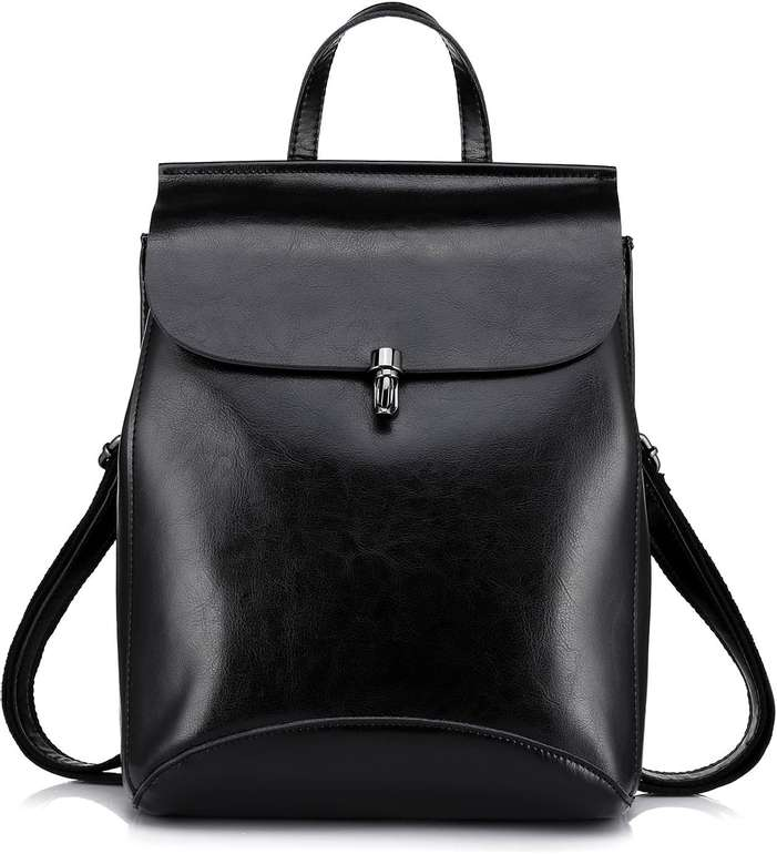 Realer Damen Leder Rucksack-Handtasche in 4 Farben für je 45,81€ inkl. Versand (statt 58€)