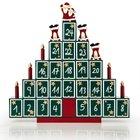 """Adventskalender """"Pyramide"""" aus Holz zum Selbstbefüllen für 17,95€"""